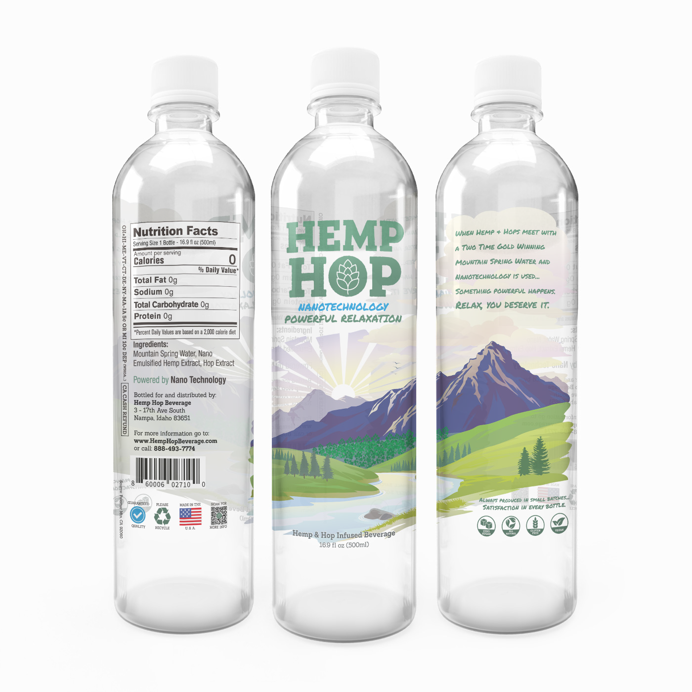 Hemp Hop Beverage Launches New Relaxation Drink, Partners with IBC